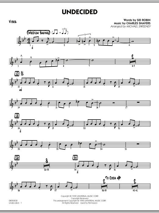 Undecided - Vibes (Jazz Ensemble)