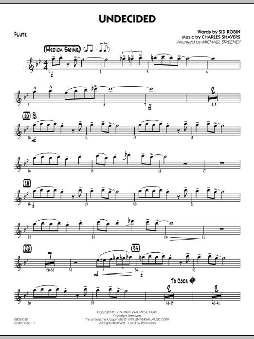 Undecided - Flute (Jazz Ensemble)