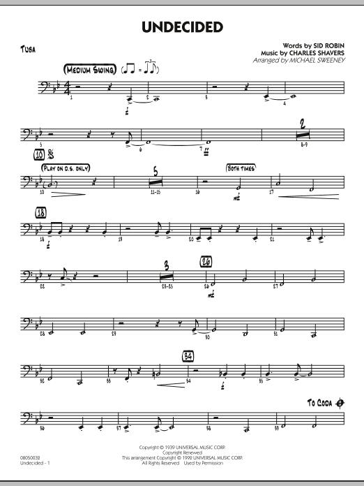 Undecided - Tuba (Jazz Ensemble)