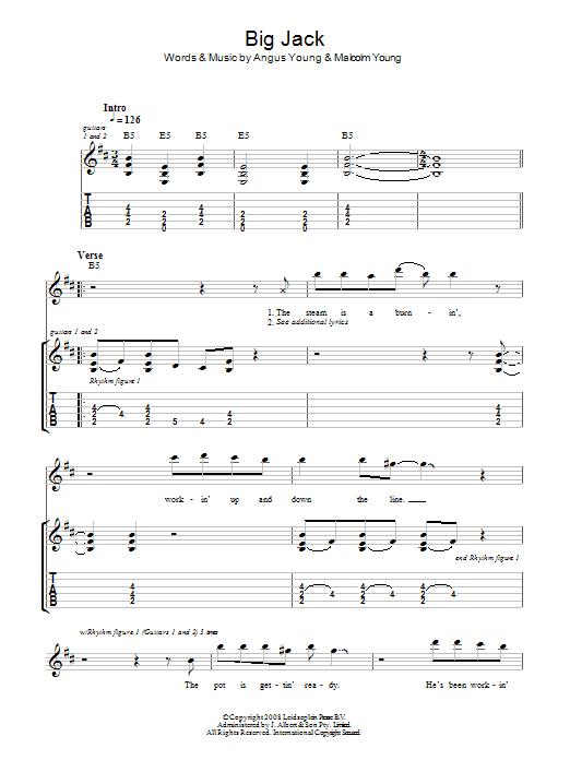 Big Jack Sheet Music