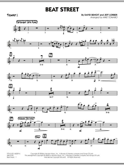 Beat Street - Trumpet 1 (Jazz Ensemble)