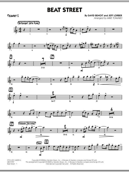 Beat Street - Trumpet 2 (Jazz Ensemble)