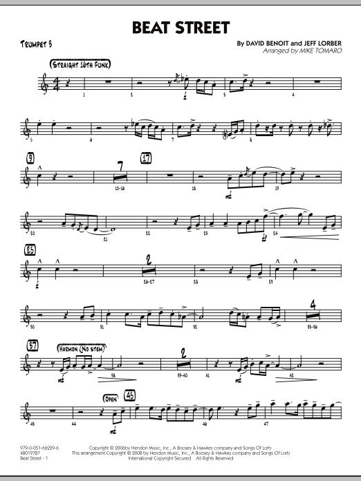 Beat Street - Trumpet 3 (Jazz Ensemble)