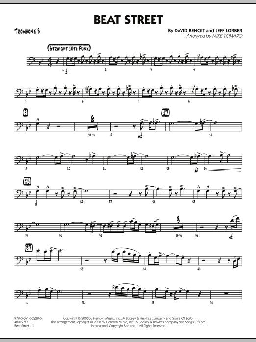 Beat Street - Trombone 3 (Jazz Ensemble)