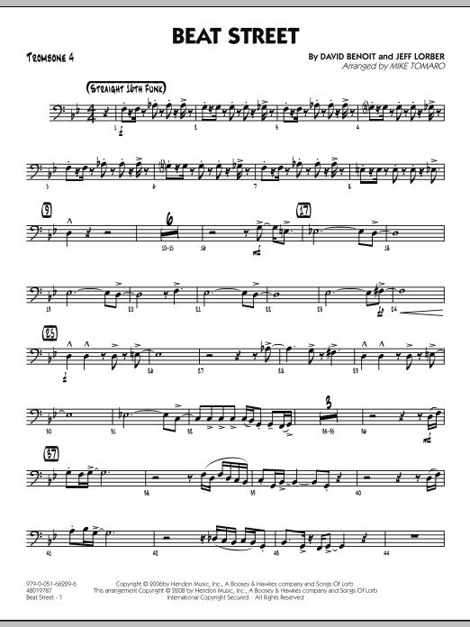 Beat Street - Trombone 4 (Jazz Ensemble)