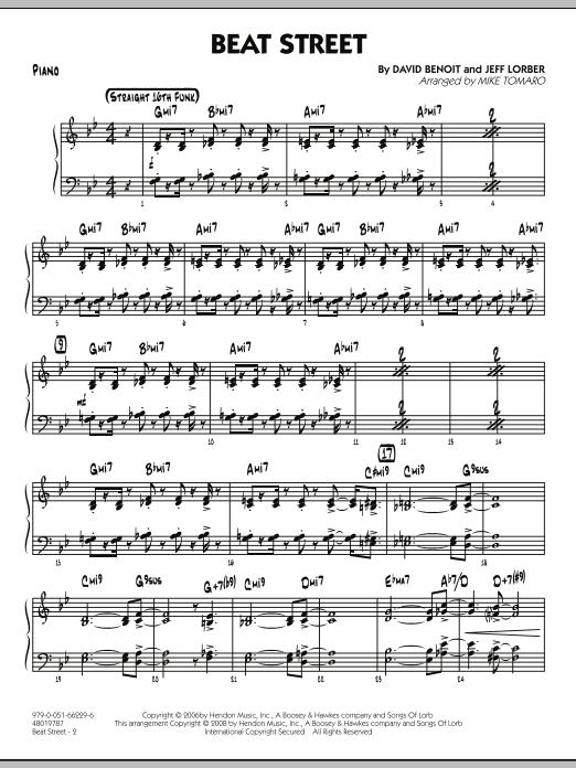 Beat Street - Piano (Jazz Ensemble)