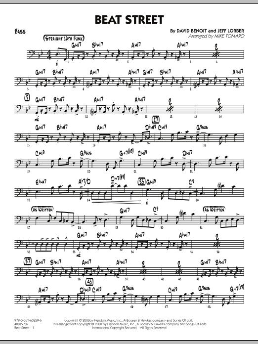 Beat Street - Bass (Jazz Ensemble)