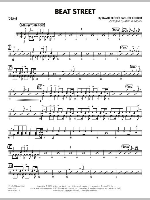 Beat Street - Drums (Jazz Ensemble)