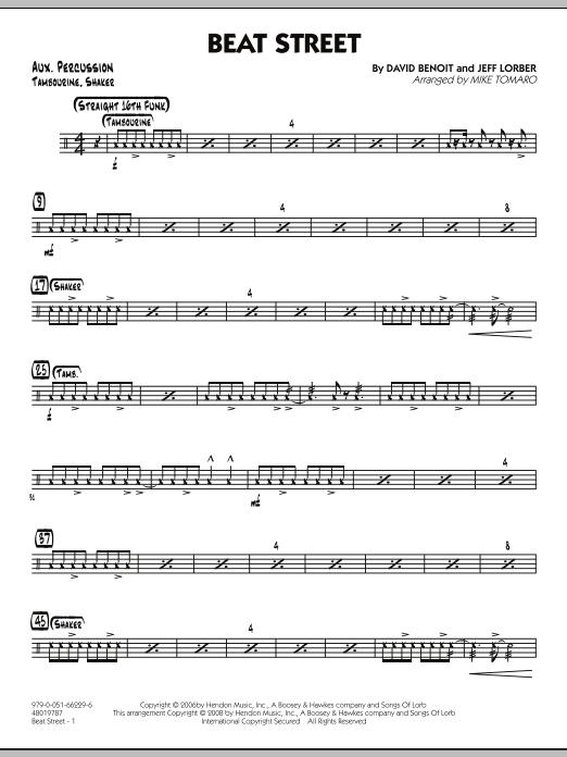 Beat Street - Aux Percussion (Jazz Ensemble)