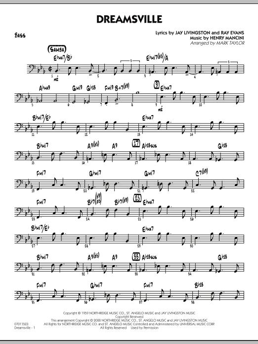 Dreamsville - Bass (Jazz Ensemble)