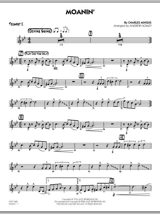 Moanin' - Trumpet 2 (Jazz Ensemble)