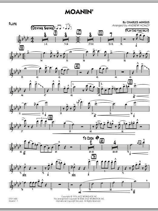 Moanin' - Flute (Jazz Ensemble)