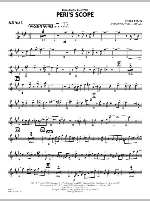 Peri's Scope - Alto Sax 2 (Jazz Ensemble)