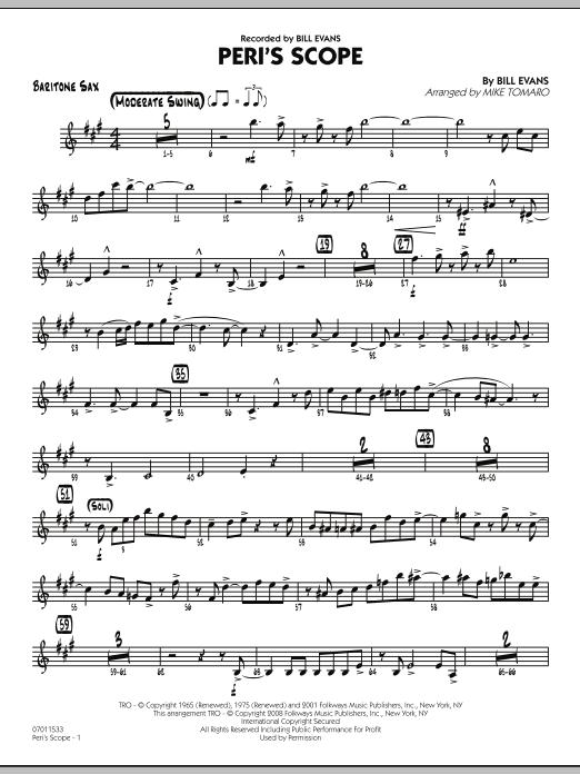 Peri's Scope - Baritone Sax (Jazz Ensemble)