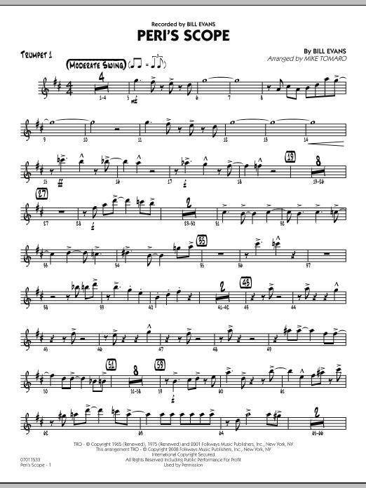 Peri's Scope - Trumpet 1 (Jazz Ensemble)