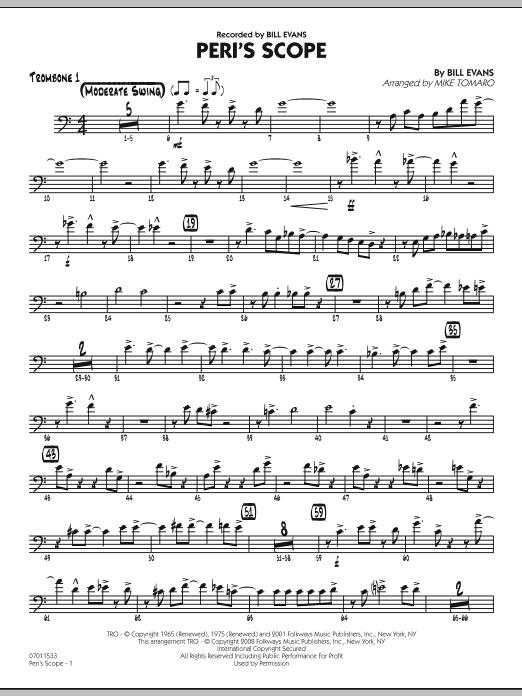 Peri's Scope - Trombone 1 (Jazz Ensemble)