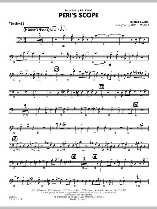 Peri's Scope - Trombone 3 (Jazz Ensemble)