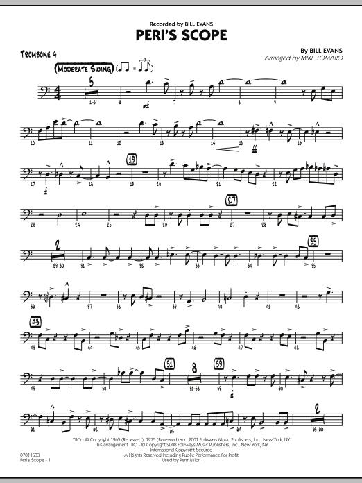 Peri's Scope - Trombone 4 (Jazz Ensemble)