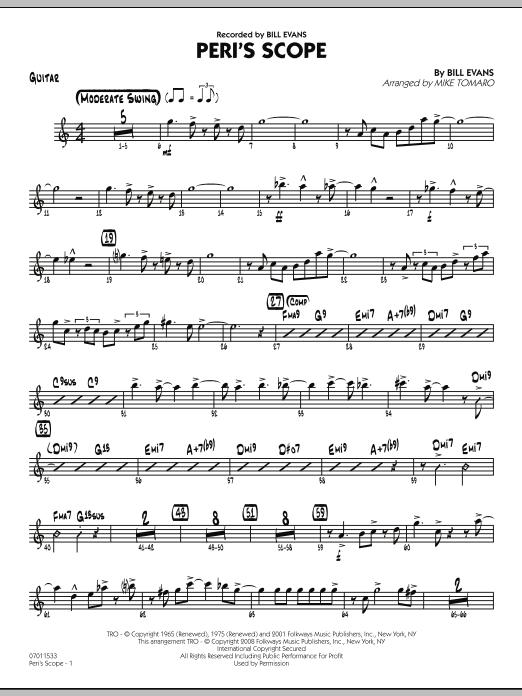Peri's Scope - Guitar (Jazz Ensemble)