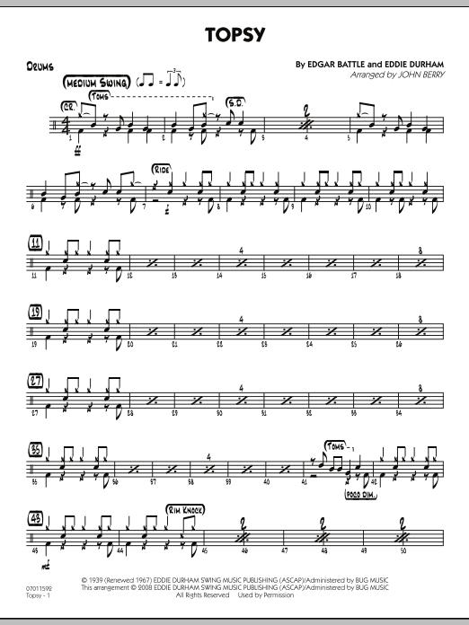 Topsy - Drums (Jazz Ensemble)