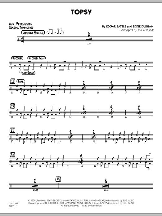 Topsy - Aux Percussion (Jazz Ensemble)