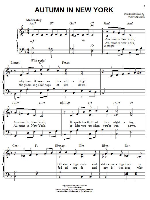 new york new york sinatra sheet music pdf