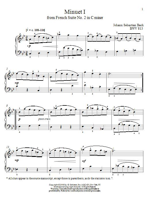 First Lessons in Bach - 28 Pieces by Johann Sebastian Bach Christos Tsitsaros