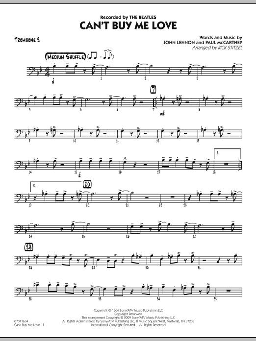 Can't Buy Me Love - Trombone 2 Sheet Music