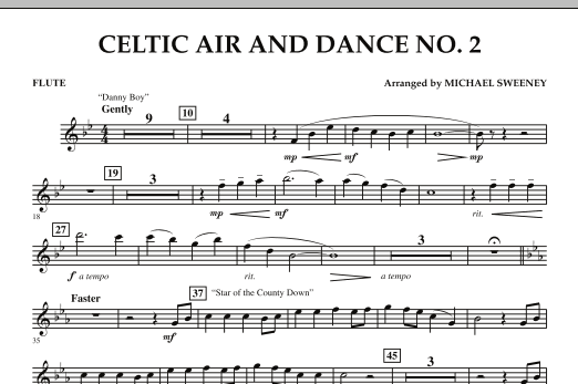 Celtic Air and Dance No. 2 - Flute (Concert Band)
