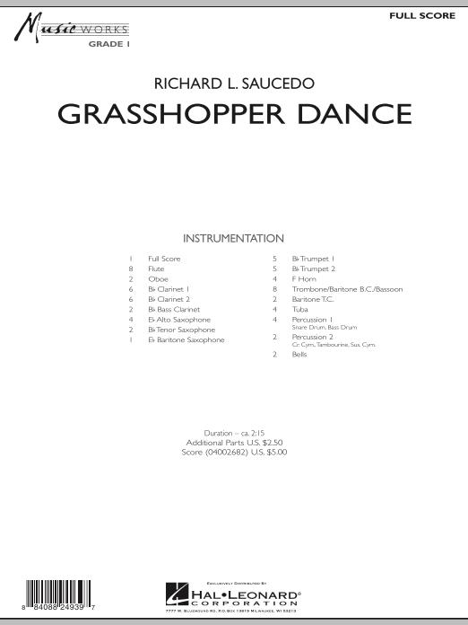 Grasshopper Dance - Full Score (Concert Band)
