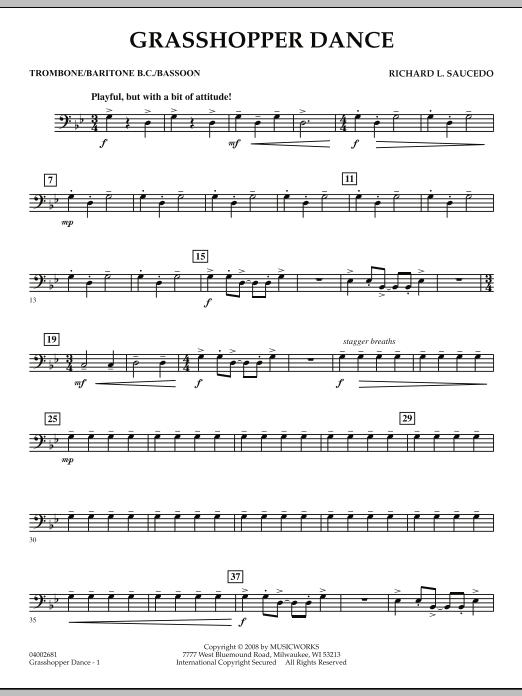 Grasshopper Dance - Trombone (Concert Band)