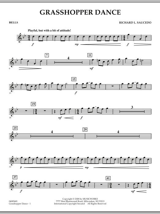 Grasshopper Dance - Bells (Concert Band)