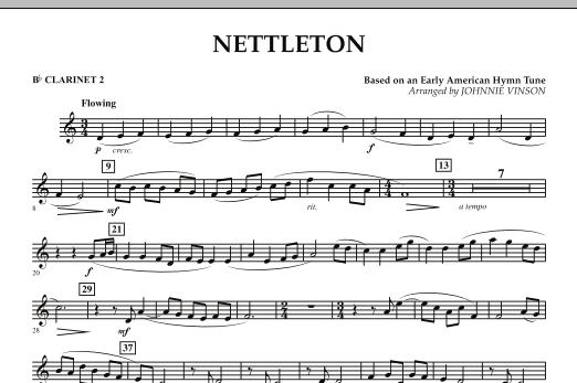 Nettleton - Bb Clarinet 2 (Concert Band)
