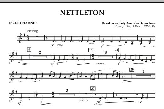 Nettleton - Eb Alto Clarinet (Concert Band)