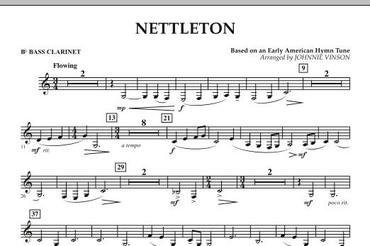 Nettleton - Bb Bass Clarinet (Concert Band)