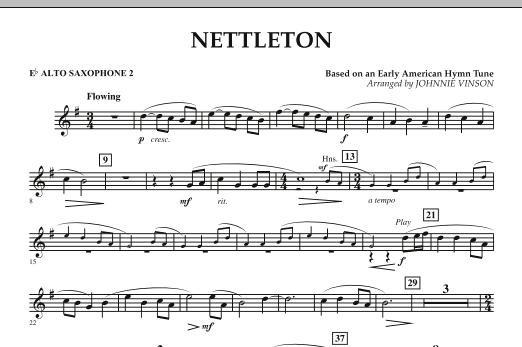 Nettleton - Eb Alto Saxophone 2 (Concert Band)