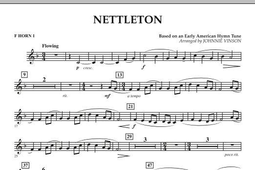 Nettleton - F Horn 1 (Concert Band)