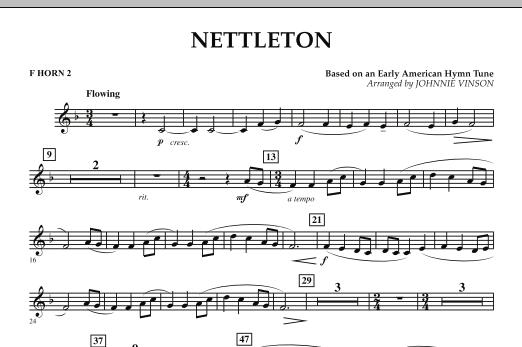 Nettleton - F Horn 2 (Concert Band)