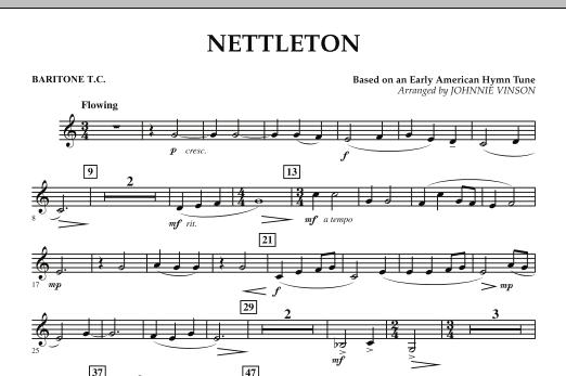 Nettleton - Baritone T.C. (Concert Band)