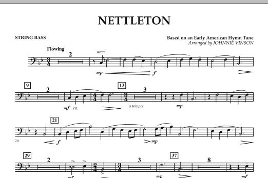 Nettleton - String Bass (Concert Band)