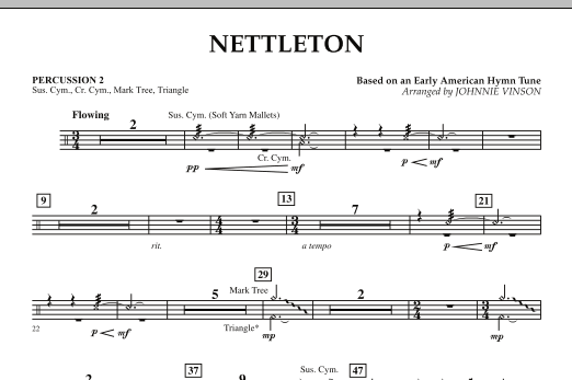 Nettleton - Percussion 2 (Concert Band)
