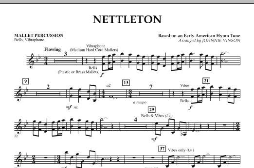 Nettleton - Mallet Percussion (Concert Band)