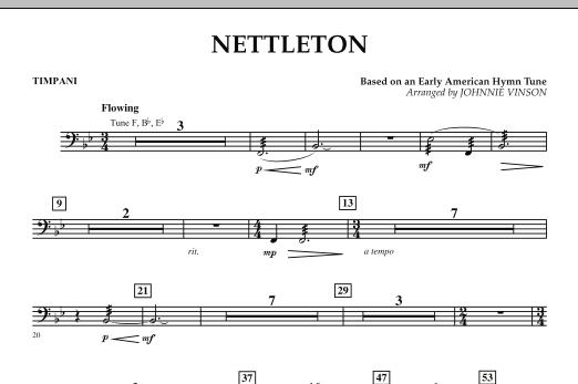 Nettleton - Timpani (Concert Band)