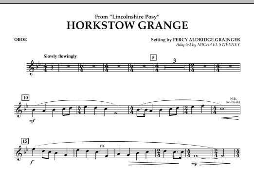 Horkstow Grange - Oboe (Concert Band)