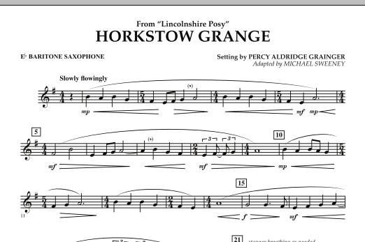 Horkstow Grange - Eb Baritone Saxophone (Concert Band)