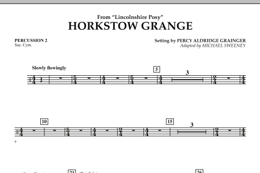 Horkstow Grange - Percussion 2 (Concert Band)
