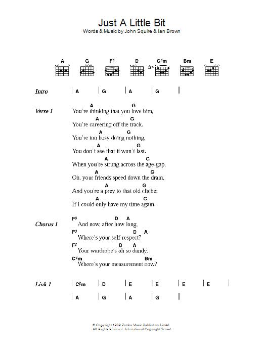Just A Little Bit Sheet Music