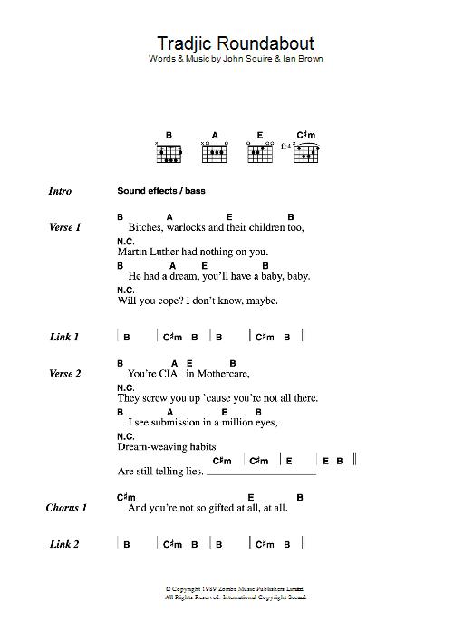 Tradjic Roundabout Sheet Music