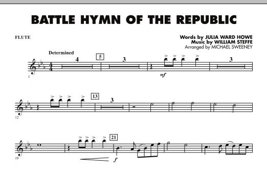 Battle Hymn of the Republic - Flute (Concert Band)