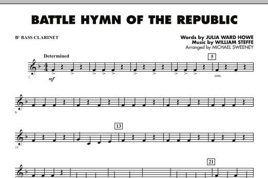 Battle Hymn of the Republic - Bb Bass Clarinet (Concert Band)